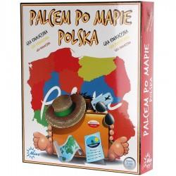Gra Palcem Po Mapie Polska