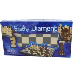 Szachy drewniane Diament...