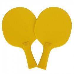 Rakietki do p-ponga żółte